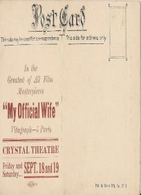 My Official Wife (1914)