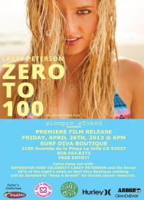 Lakey Peterson - Zero to 100
