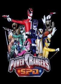 Power Rangers - Space Patrol Delta / Power Rangers S.P.D