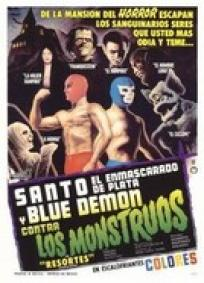 Santo e Blue Demon Contra os Monstros