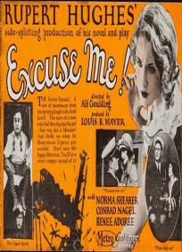 Excuse Me (1925)
