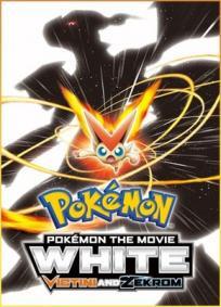 Pokémon - O Filme -  Branco - Victini e Zekrom