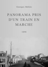Panorama em Cima de Um Trem em Movimento